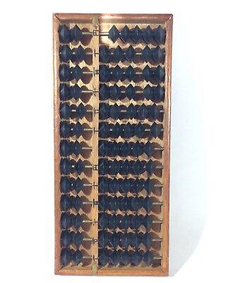 Vintage Wood Abacus Made in Japan Fully Functional