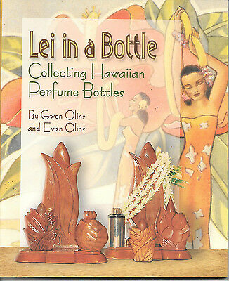 Lei in a Bottle, Collecting Hawaiian Perfume Bottles, carved wooden bottles