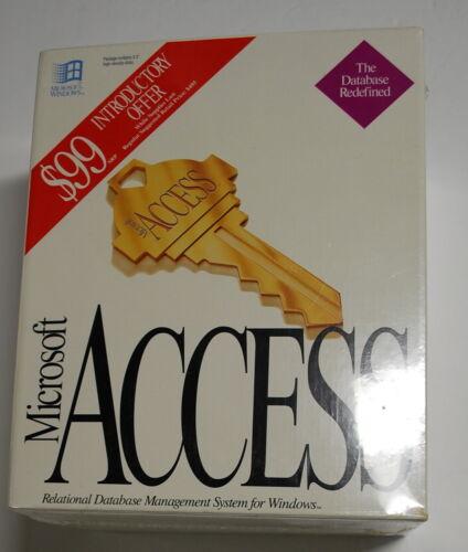 Microsoft  Access  *NIB Unopened!*