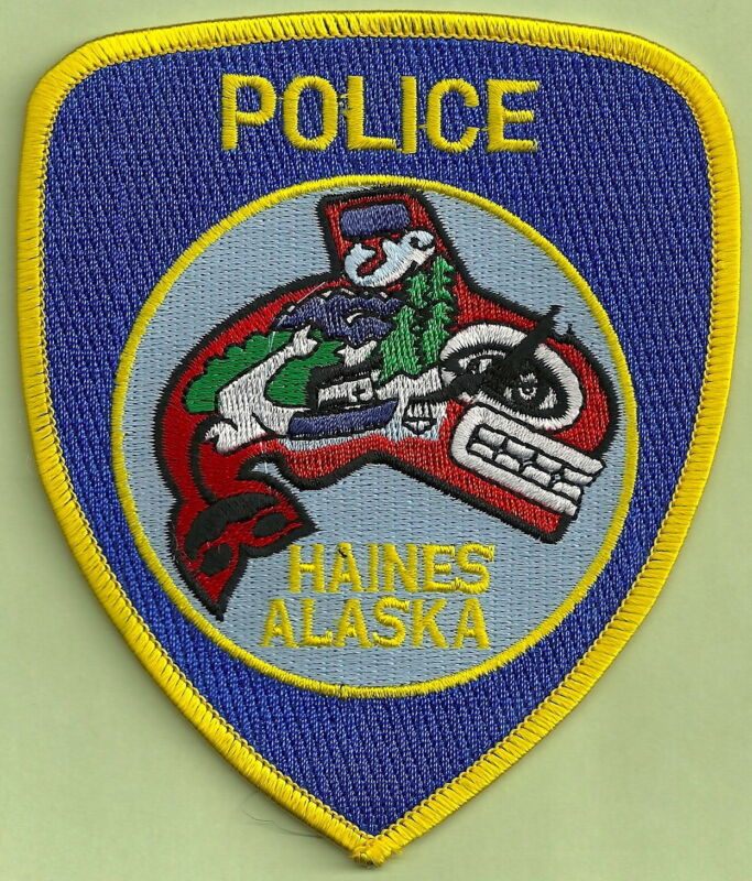 HAINES ALASKA POLICE PATCH
