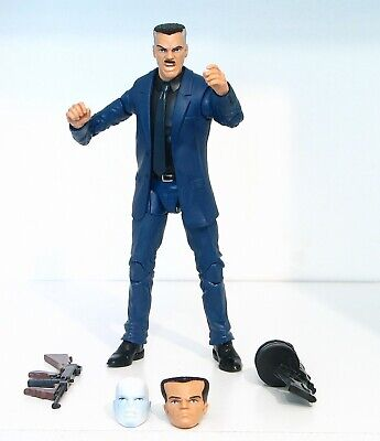 Marvel Legends Chameleon J Jonah Jameson Hammerhead Rhino wave ALL Heads JJJ
