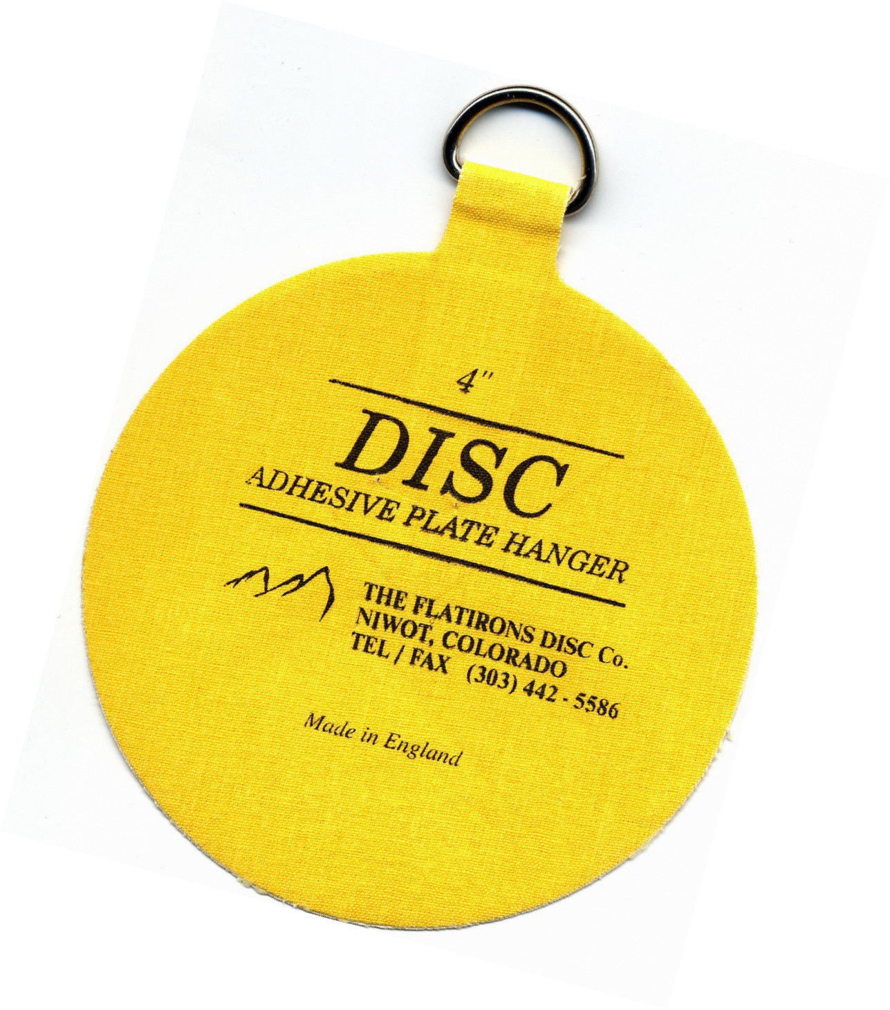 The Flatirons Disc Co Invisible Disc Adhesive Large Plate Hanger Set ...