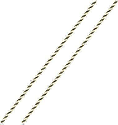 316 Inch Brass Round Rod Favordrory 2pcs Brass Round Rods Lathe Bar Stock 3...