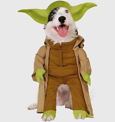 Disney Star Wars YODA Pet Costume Size Small Dress Up Puppy Dog New Halloween - Yoda Dress Up