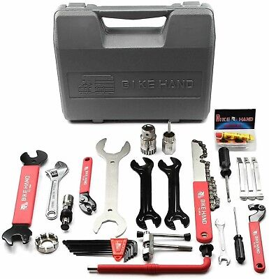 Bike Repair Tool Kits Saddle Bag Cycling Seat Pack 16 in 1Repair Tool Kit B4J2