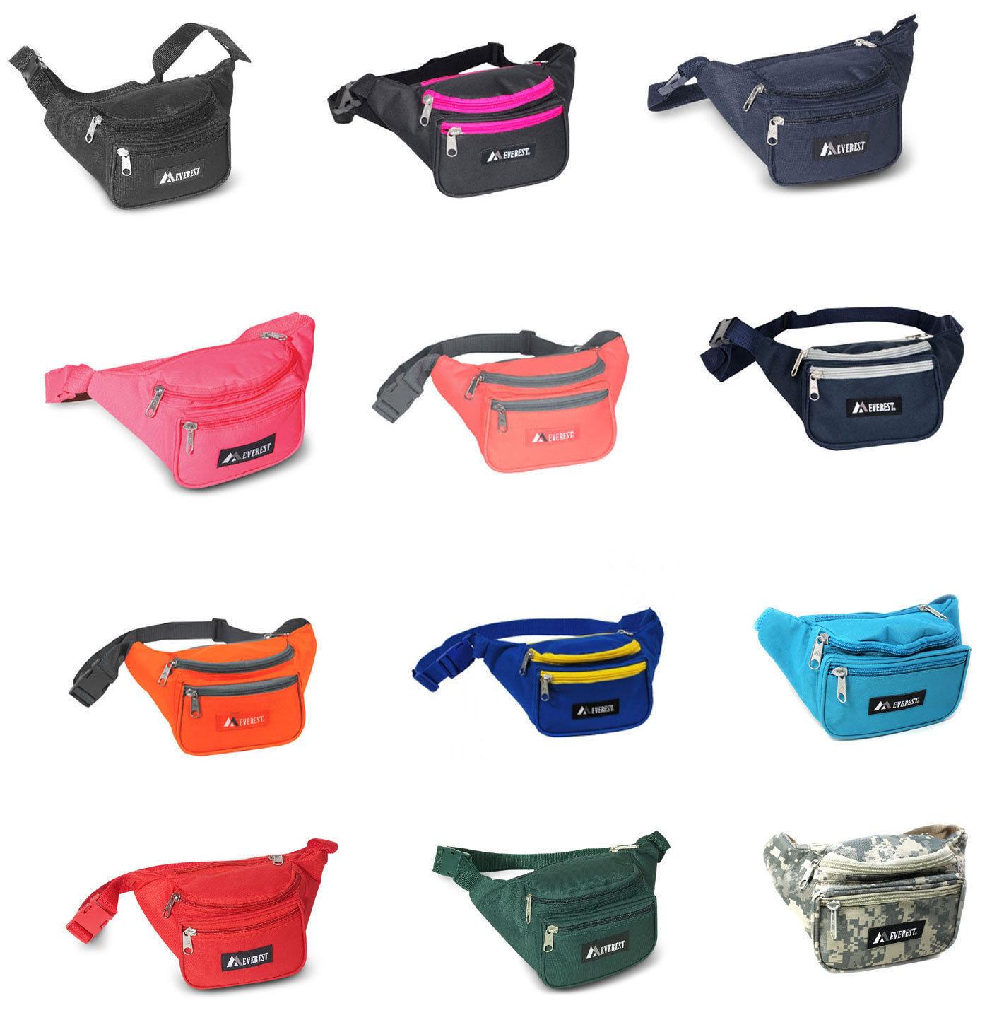 Waist Fanny Pack Belt Bag Pouch Travel Sport Hip Purse Mens