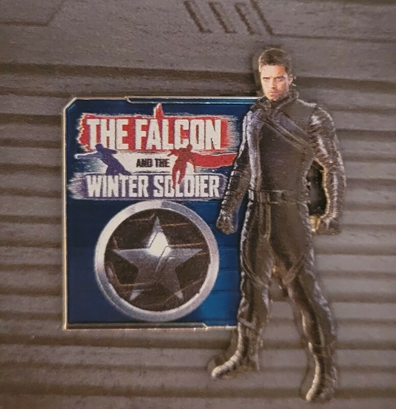 Bucky The Falcon And The Winter Soldier Marvel Disney LR Pin