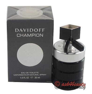 Davidoff 1 Ounce Edt - Champion By Davidoff 1 oz Eau De Toilette Spray for Men New In Box