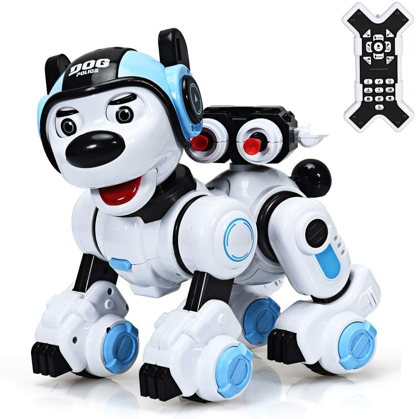 Ferngesteuerter Roboter Programmierbarer Roboterhund Spielzeughund für Kinder