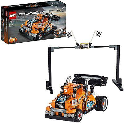 LEGO Technic Race Truck (42104) 2-in-1 Pull-Back Motor New Sealed