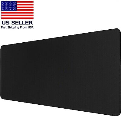 Large Extended Gaming Mouse Pad Mat Stitched Edges Non-slip Waterproof Mousepad