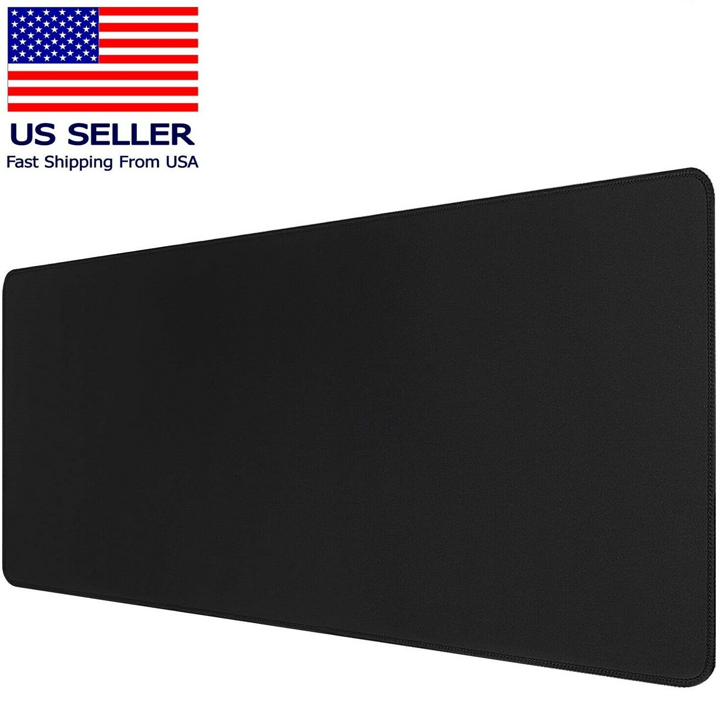 Large Extended Gaming Mouse Pad Mat, Stitched Edges Non-Slip