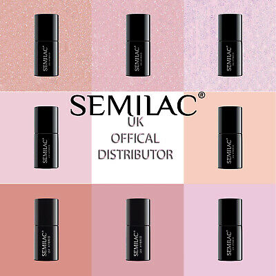 Semilac LED/UV Hybrid Manicure Nail Gel Base Extend 5in1 - Choose From 8 Colours