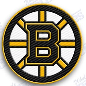 BOSTON BRUINS   iron on embroidered embroidery PATCH nhl ice hockey