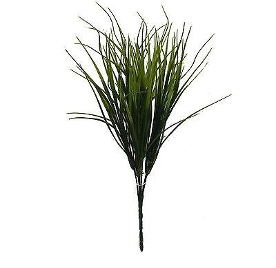 """GRASS BUSH 14""""H ~ Filler Greenery Silk Wedding Flowers Centerpieces Decoration"""