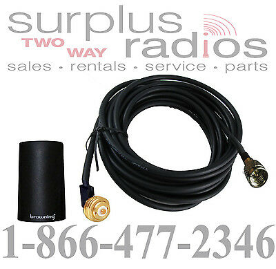 Browning 800mhz 2db Low Profile Antenna & Cable Motorola ...