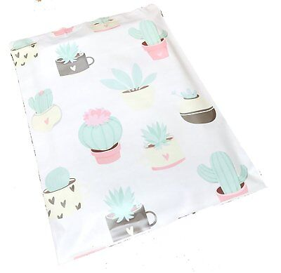 10x13 Succulents Designer Poly Mailers Plastic Envelopes Shipping Bags