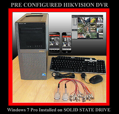 2 Tb 16 Ch Hikvision Pc Dvr - Remote Support - Solid State Drive Ds-4016hci