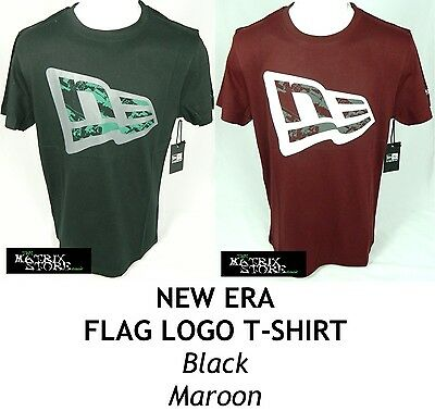 NEW ERA FLAG MENS T-SHIRT - VARIOUS COLOURS
