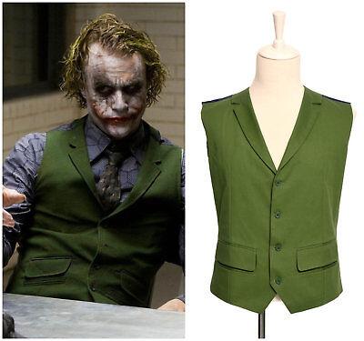 Batman Joker Green Vest Popular Party Waistcoat Costume Halloween Cosplay - Popular Halloween Costumes Men