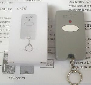 Garage-and-Gate-Doors-Mini-Remote-Control-Opener-Multi-Code-Transmitter-10-Pins
