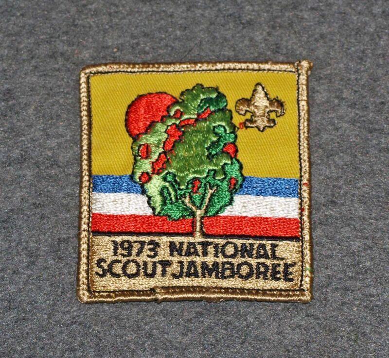 BSA 1973 NATIONAL SCOUT JAMBOREE POCKET PATCH