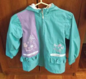Girls Size 6X Spring/Fall Hooded Jacket