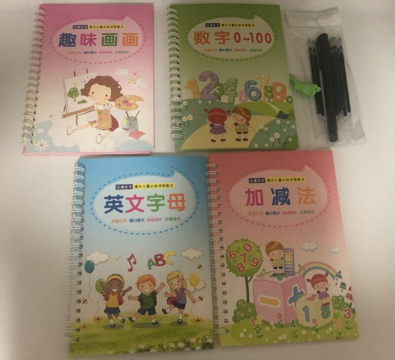 BEIUFRHOWQ Kids Magic Writing Reusable Board (Chinese language)