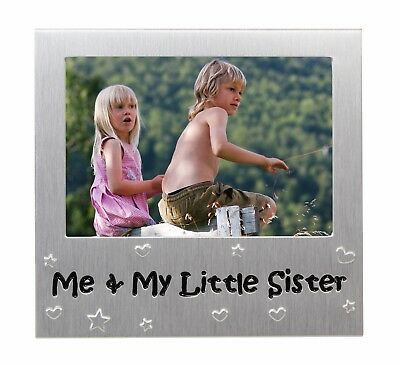 """Me and My Little Sister Photo Frame - Photo Size 5"""" x 3.5"""""""