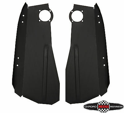 PAIR OF CLASSIC MINI INNER FRONT WING DRIVER  PASSENGER SIDE P</em>...