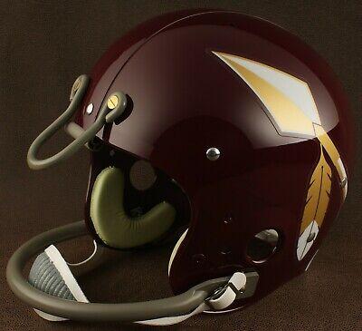 - WASHINGTON REDSKINS 1965-1969 NFL Authentic THROWBACK Football Helmet
