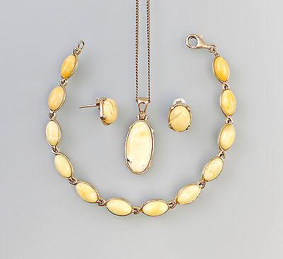 585er/333er Gold Bernstein Garnitur Butterscotch 99825040