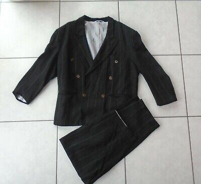 Faschingskostüm Anzug Blues Brothers Gangster Mafia Geheimagent schwar S M 46 48
