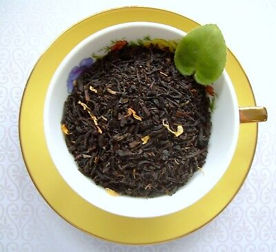 Sweet Red Cherry Loose Leaf Aged Asian Black Tea Blend Pure & Naturally - Cherry Flavored Loose Leaf