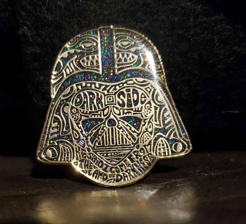 PHISH Band Vader Gold Deep Space Pin Limited Edition LE75 by Danny Steinman NEW