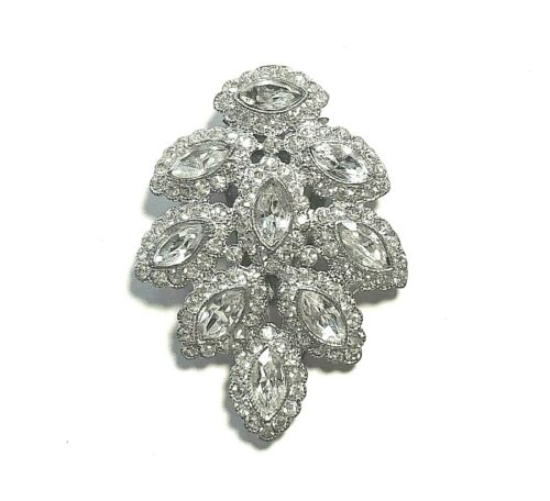 Antique/Vintage Rhinestone DRESS OR FUR CLIP