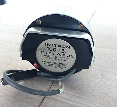 Instron 100 Lb Tension Load Cell