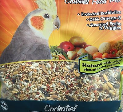 Higgins Sunburst Cockatiel gourmet Food bird mix fruits and veggie tiel 25lb