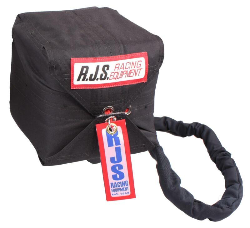 RJS Racing Equipment 7000501 Parachute Bag, Sportsman, Black, Each