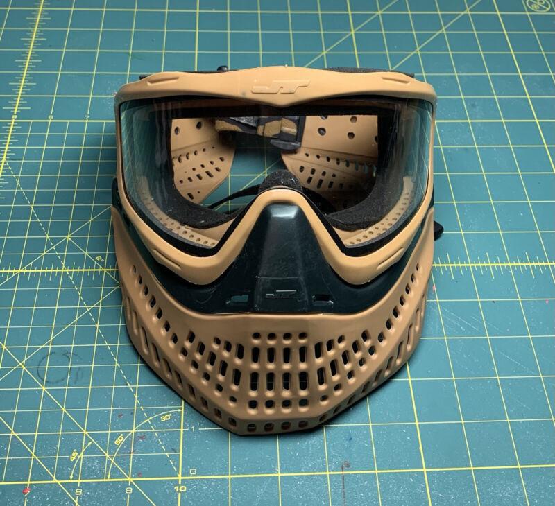 JT Proflex Paintball Mask 2.0 Brown Black Original