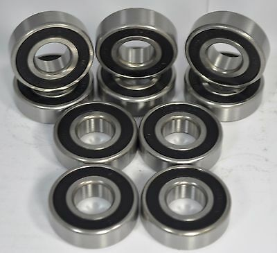 6203-12-2rs C3 34 Bore Premium Sealed Ball Bearing 230-052 6203-2rs-34 Qty 10
