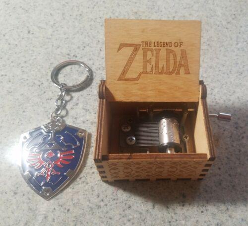 Zelda Music Box + keychain   The Legend of Zelda - Gamer gift - Song of Storms