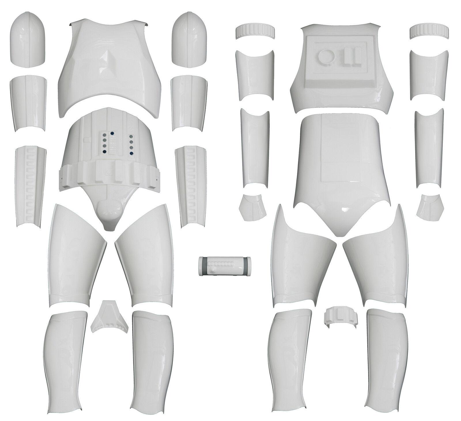 Avambraccio Inner Armour-L o R-Ricambio per un costume da Stormtrooper-dal Regno Unito