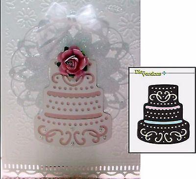 Wedding Cake Metal Die Cut Die-Versions Cutting Dies Birthday DVW-149