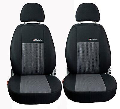 Saferide Schutz Sitzschoner Sitzbezug Vordersitz Schutzabdeckung Sitzauflage Schaumstoff Leather Ergonomic Universal Sitzmatte Grau 1Stk