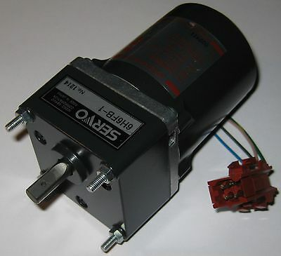 Japan Servo Induction Motor W Capacitor - 115 V - 20 Watts - 285 Rpm - 16 Gear
