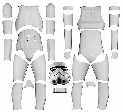 Star Wars Stormtrooper Costume Armour - Kit Version 2 including Helmet from UK - Stormtrooper Armor Kit