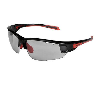 Gafas de Sol Deporte Ciclismo Profesional Negro Rojo Lente Fotocromatica 6252nr