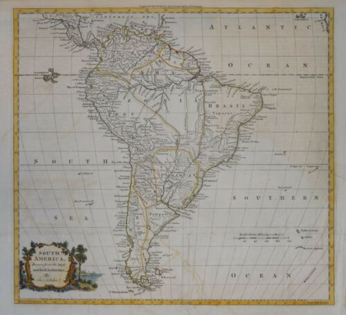 SOUTH AMERICA BY THOMAS KITCHIN FOR GUTHRIE