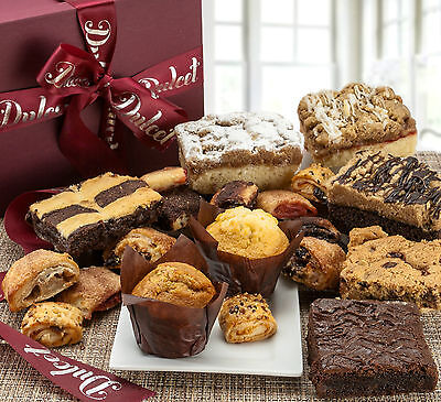 Dulcet's Gourmet Assorted Bakery Pastry Deluxe Gift Baskets